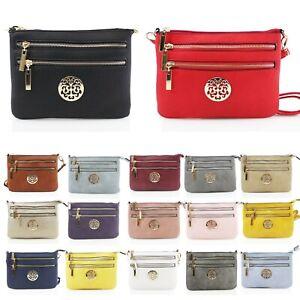 Ladies Stylish New Across Body Bag Women/'s Side Shoulder New Fashion Bags UK