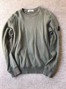 Stone-Island-Sweatshirt-Olive-Green