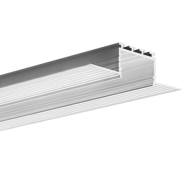 Klus B7823 - 6.56 ft.x20 164ft Aluminum KOZUS Channel + cover LIGER - set 20m