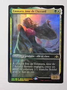 Emmara-ame-de-l-039-Accord-Promo-foil-MTG-Magic-Francais