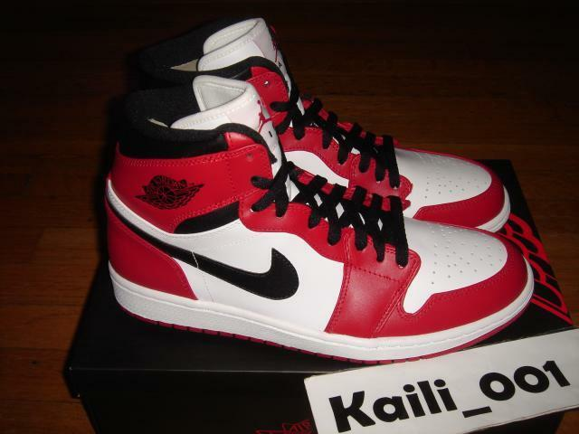 Nike air 1 jordan 1 air retro - hohe chicago og gezchtet, royal db fragment einer verboten 340129