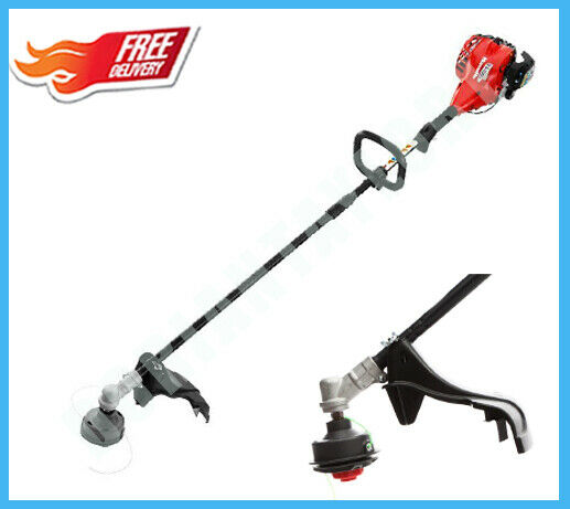 Straight Shaft Weed Wacker Gas Trimmer 2 Cycle 26 Cc Weedeater Adjule Handle