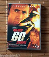 Nur noch 60 Sekunden • DVD • Nicolas Cage • Klassiker