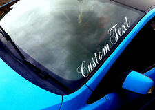 Custom Text JDM Any Text ANY COLOUR Windscreen Sticker Drift Jap Car Vinyl Decal