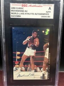 1992-Classic-Muhammad-Ali-On-Card-Auto-Autograph-Signed-Boxing-Certified-SGC
