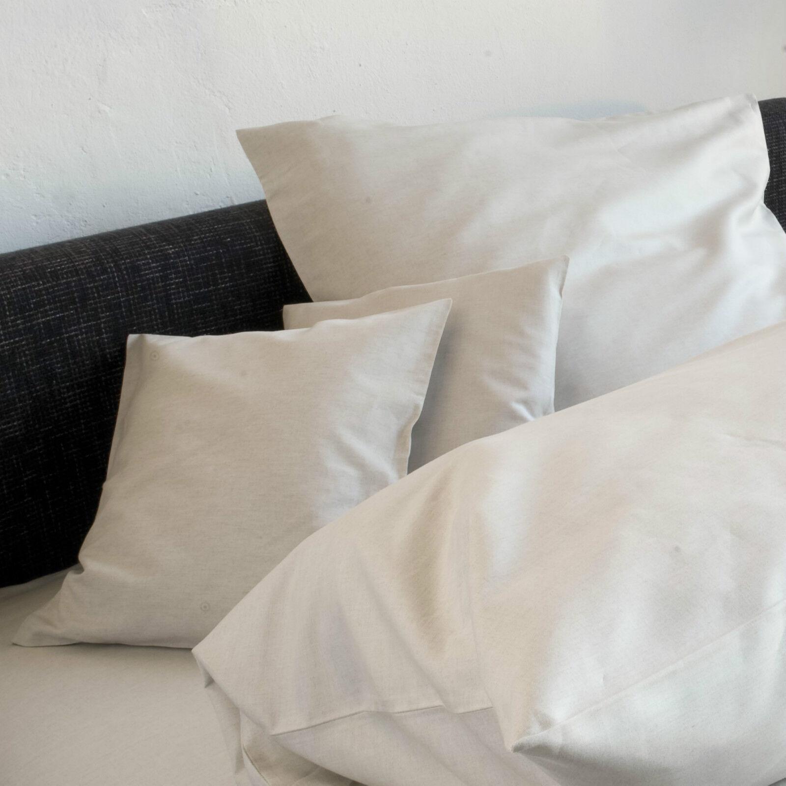 Leinen Bettwäsche aus Leinen Spann-Bettlaken 100 x 200 - 160 x 200 Natura natur