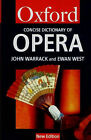 The Concise Oxford Dictionary of Opera by Oxford University Press (Paperback, 1996)
