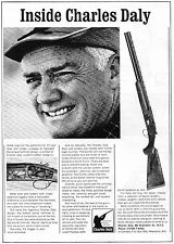 1965 Charles Daly Over and Under Shotgun Print Ad