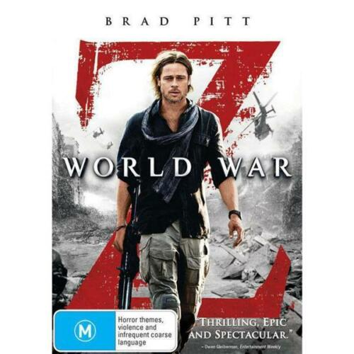 1 of 1 - WORLD WAR Z : NEW DVD