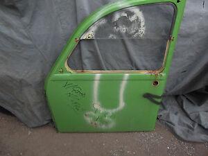 Citroen-2cv-left-front-door-good-2000-Citroen-parts-in-SHOP