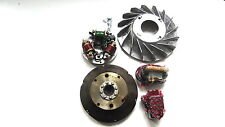 Vespa Stator Plate and Flywheel kit 12V Electronic Super,VBB,VNB,GTR@UK
