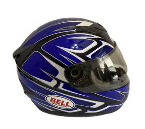 Bell-Apex-Motorcycle-Helmet-Patriot-Design-Size-Medium-Snell-M2005-Approved-Dot