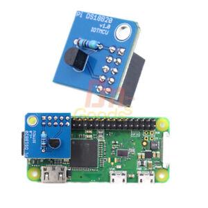 3.3V 64-bit DS18B20 Temperature Sensor Module 1-Wire Interface For Raspberry Pi