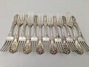 "Reed /& Barton Francis I First Sterling Silver Place Fork - 7 1//4/"" No Mono s"