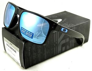 fbc49f3ee4 Image is loading NEW-OAKLEY-HOLBROOK-SUNGLASSES-OO9102-C1-POLISHED-BLACK-