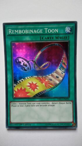 Carte Yu Gi Oh Rembobinage Toon DRL2-FR024 SUPER RARE