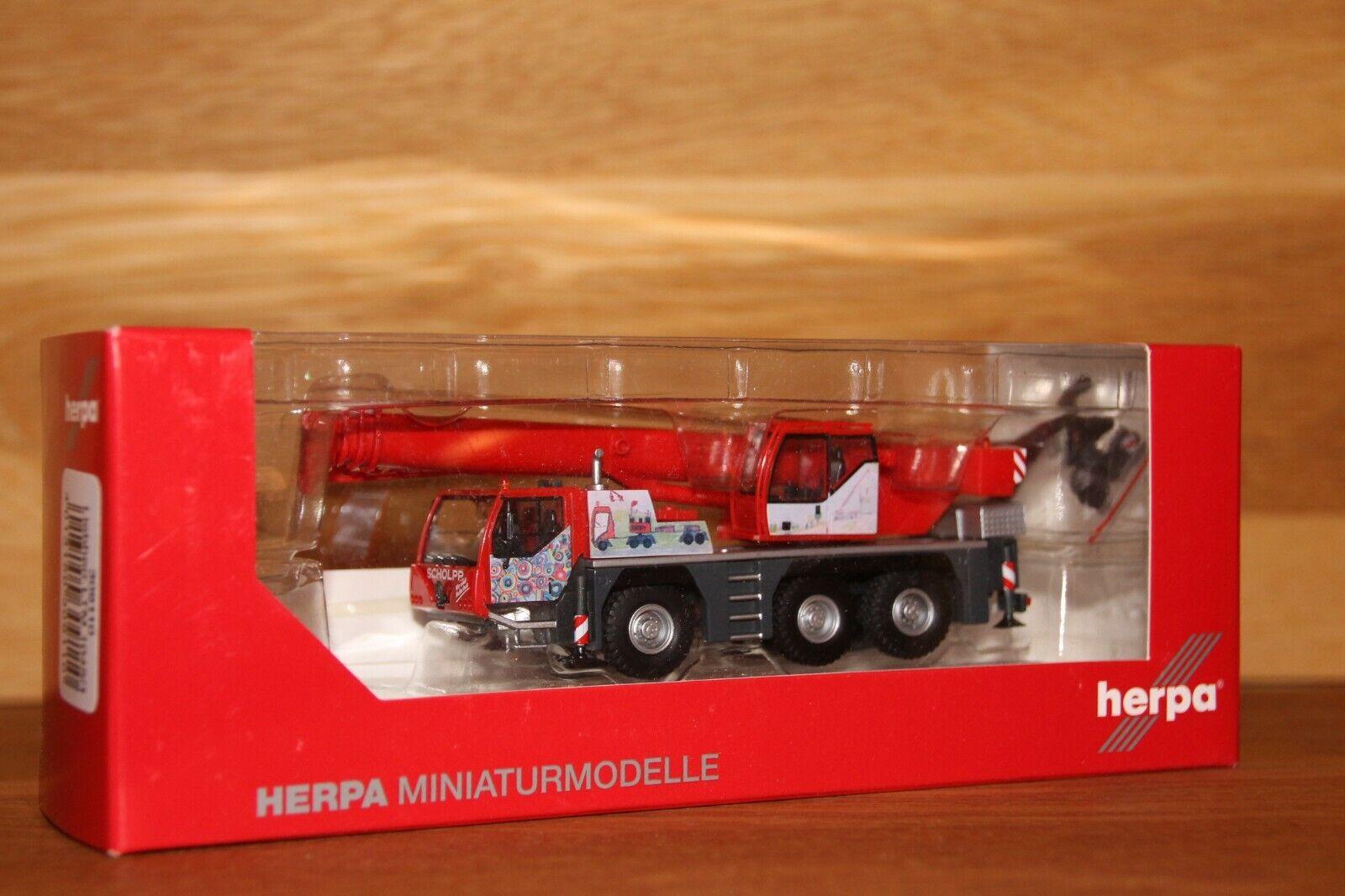 HERPA, 309110 Liebherr grue mobile LTM 1045 1  Scholpp kinderkran