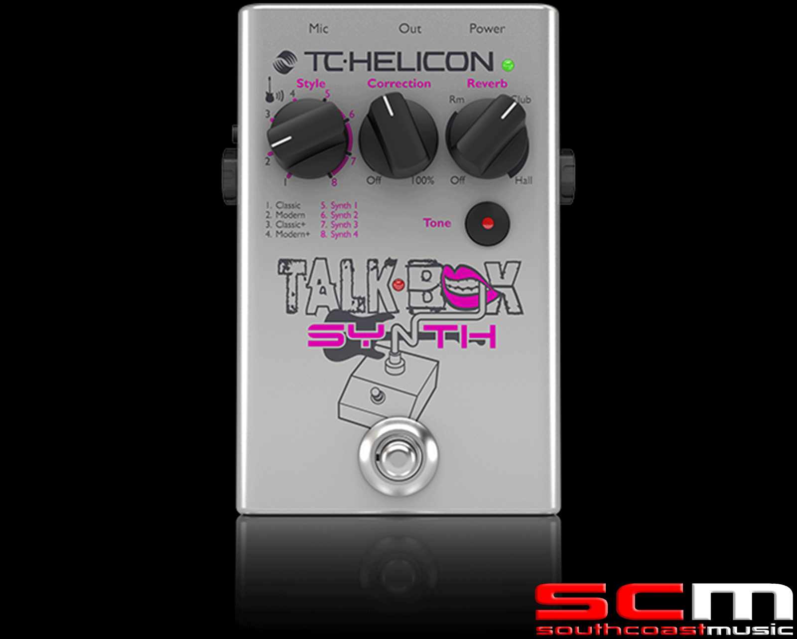 TC Electronic TalkBox Synth Electric Acoustic Guitar FX Vocal SyntheGrößer
