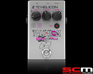 Details about TC Electronic TalkBox Synth Electric Acoustic Guitar FX Vocal  Synthesizer