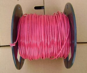 Encore TFN 18 AWG 500/' Ft Spool of Black 18 Gauge Solid Copper Electrical Wire