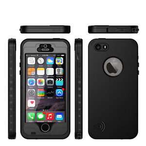 reputable site f8737 7bfac Details about FOR IPHONE 6 PLUS STEALTH WATERPROOF SHOCKPROOF DIRT PROOF  LIFE COVER PHONE CASE