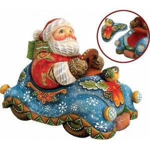 G Debrekht 512045 Derevo Collection Speedy Delivery Santa Surprise Box 4 In 746550020654 Ebay