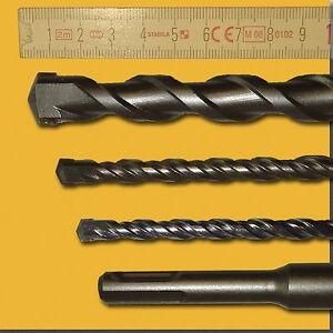 12mm SDS-Plus Quadro X Betonbohrer//Steinbohrer//Hammerbohrer 12x1000mm