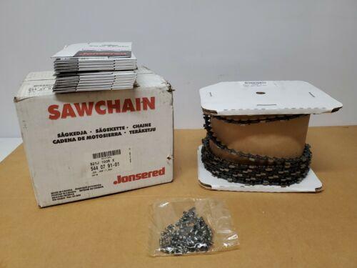 M38 100/' .325 .063 Saw Chain Husqvarna OEM 503307301 Chisel Reduced Kickback