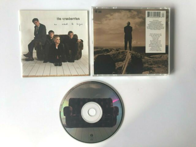 """The Cranberries """"No Need to Argue"""" CD - Island 1994 314-524 050-2"""