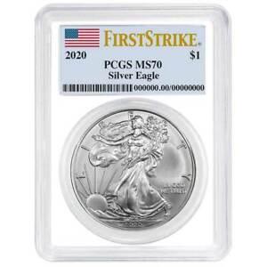 $1 2013 Silver Eagle PCGS MS 70 First Strike Perfect B.U