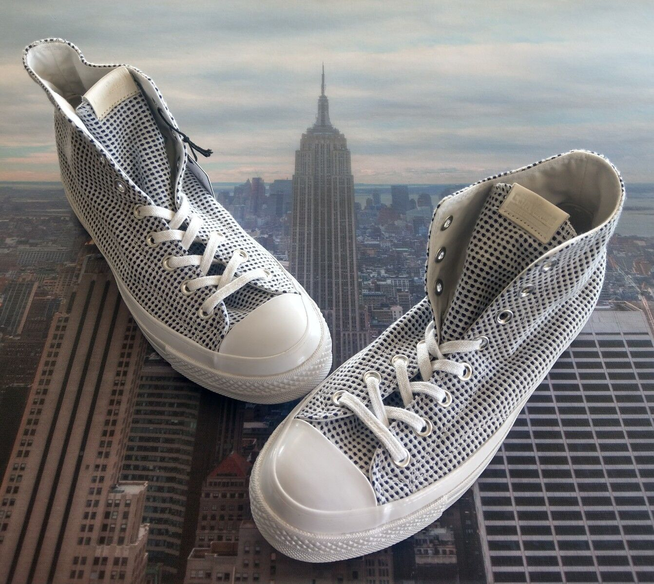 Converse Chuck Taylor All Star 70 Hi Blank Canvas NY Two Tone Size 9 156276c New