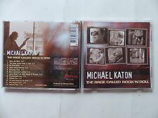 CD Album MICHAEL KATON The rage called rock 'n' roll PRD 71172