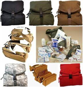 ELITE FIRST AID Corpsman M3 Medic Bag STOCKED Trauma Kit Military Survival