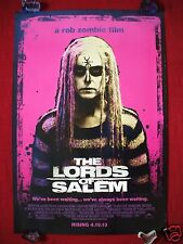 THE LORDS OF SALEM *2013 ORIGINAL MOVIE POSTER 1SH ROB ZOMBIE HALLOWEEN 27x40 DS