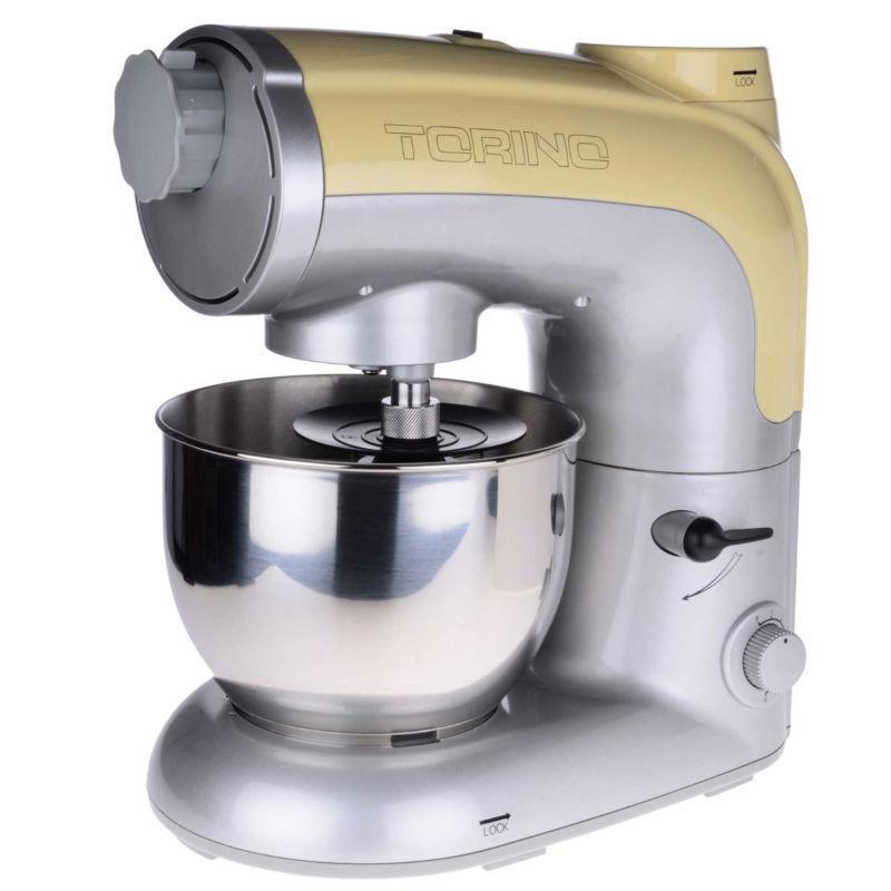 Crème Torino Food Processor, robot mélangeur mixeur viande hachoir à viande Pasta Maker 800 W