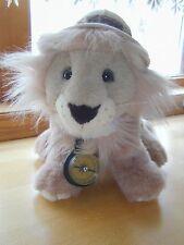 1987 Mattel Emotions Plush Safari Lion G4170 ~ Pith Helmet and Compass