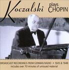 Koczalski Plays Chopin: Broadcast Recordings from German Radio 1945 & 1948 (CD, Feb-2012, 2 Discs, Music & Arts)