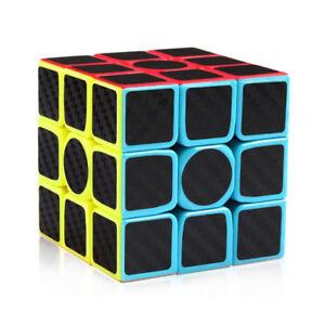Moyu Mofangjiaoshi Carbon Fiber 3x3x3 Speed Cube Magic Cube Puzzle Toys Kids Ebay