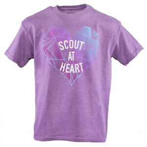 CUB-SCOUTS-BSA-PURPLE-SHIRT-YOUTH-MEDIUM-10-12-SCOUT-AT-HEART-BOYS-AND-GIRLS-NEW