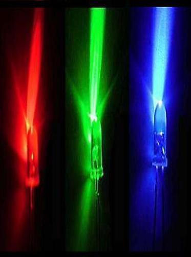 100 X 5mm Kit de LED ultra brillantes *** 8 Colores *** *** Reino Unido Stock