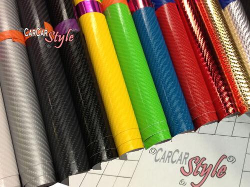 【AirFree】4D Gloss Carbon Fibre Vinyl 2m(78.7in)x0.75m(29.5in) Wrap Film Sticker