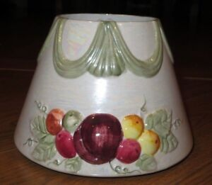 YANKEE CANDLE Large 22oz Fruit/Leaf/Ribbon Embossed Pearl ...