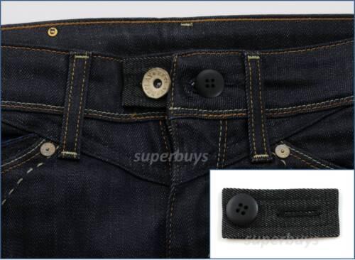 Black Denim /& Button Pant Shorts Jeans Waist Line Extension Expander Extend Size