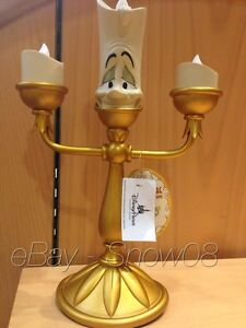 Lamp In about LUMIERE BEAUTY Details Light LED AND THE Up Figure New Park Box BEAST DIsney SUpVGqzM