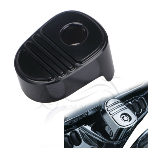 Glossy Black Ignition Switch Cover Cap For Harley Electra Glide Bagger 2014-2019