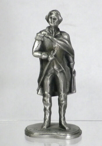 1973 Collectible HUDSON P.W. Buston Signed Pewter FIGURINE