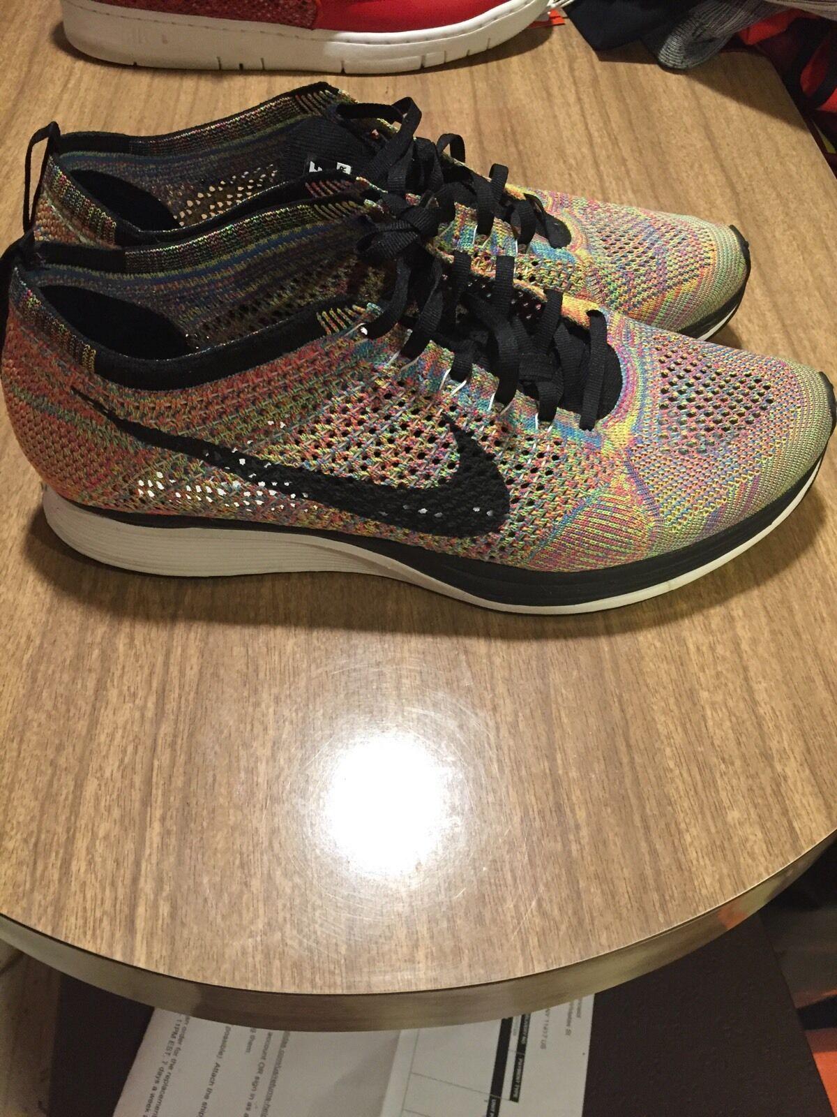 Nike Flyknit Multicolor OG Sz 13 Yeezy Fieg Boost 526628 004 Version 1.0
