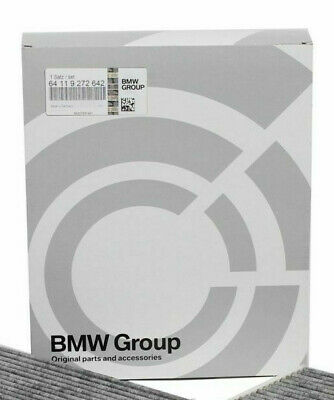 ORIGINAL BMW Innenraumfilter Pollenfilter Aktivkohlefilter Satz 64119272642