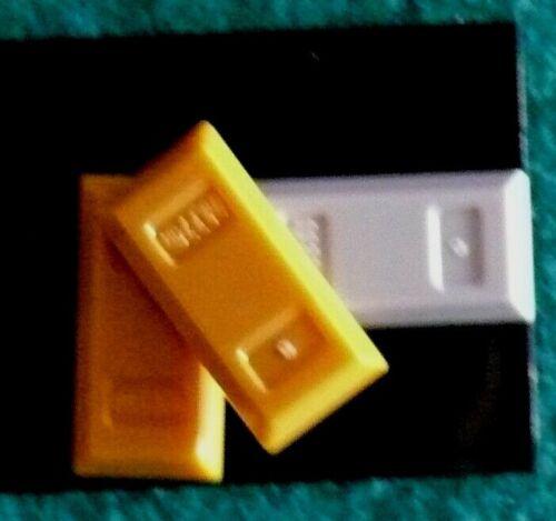 99563 ennuyer//bar ingot gold silver orange Lego Item no. 100/% original