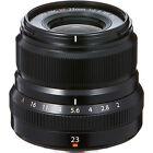 Fujifilm Fujinon XF 23-23mm f/2 R WR Lens (Black)
